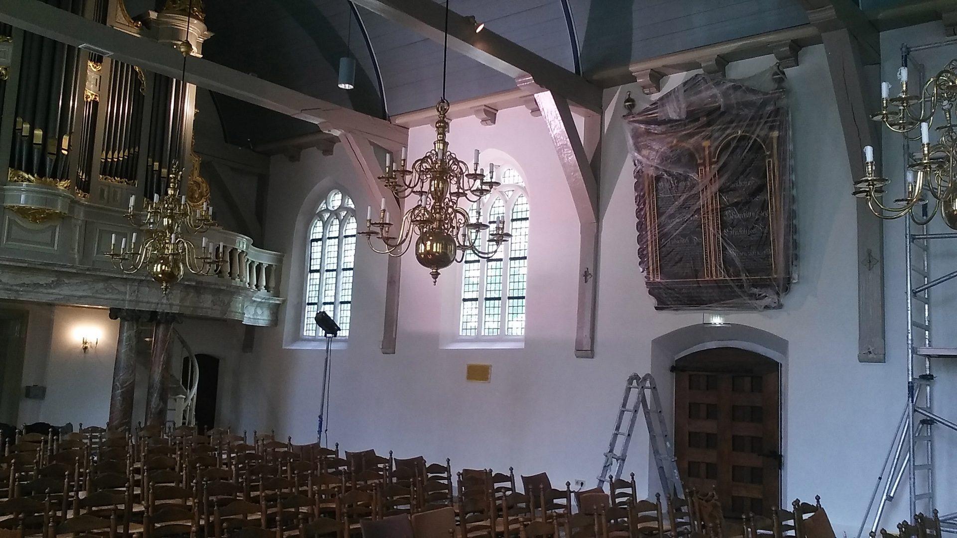 Renovatie Dorpskerk