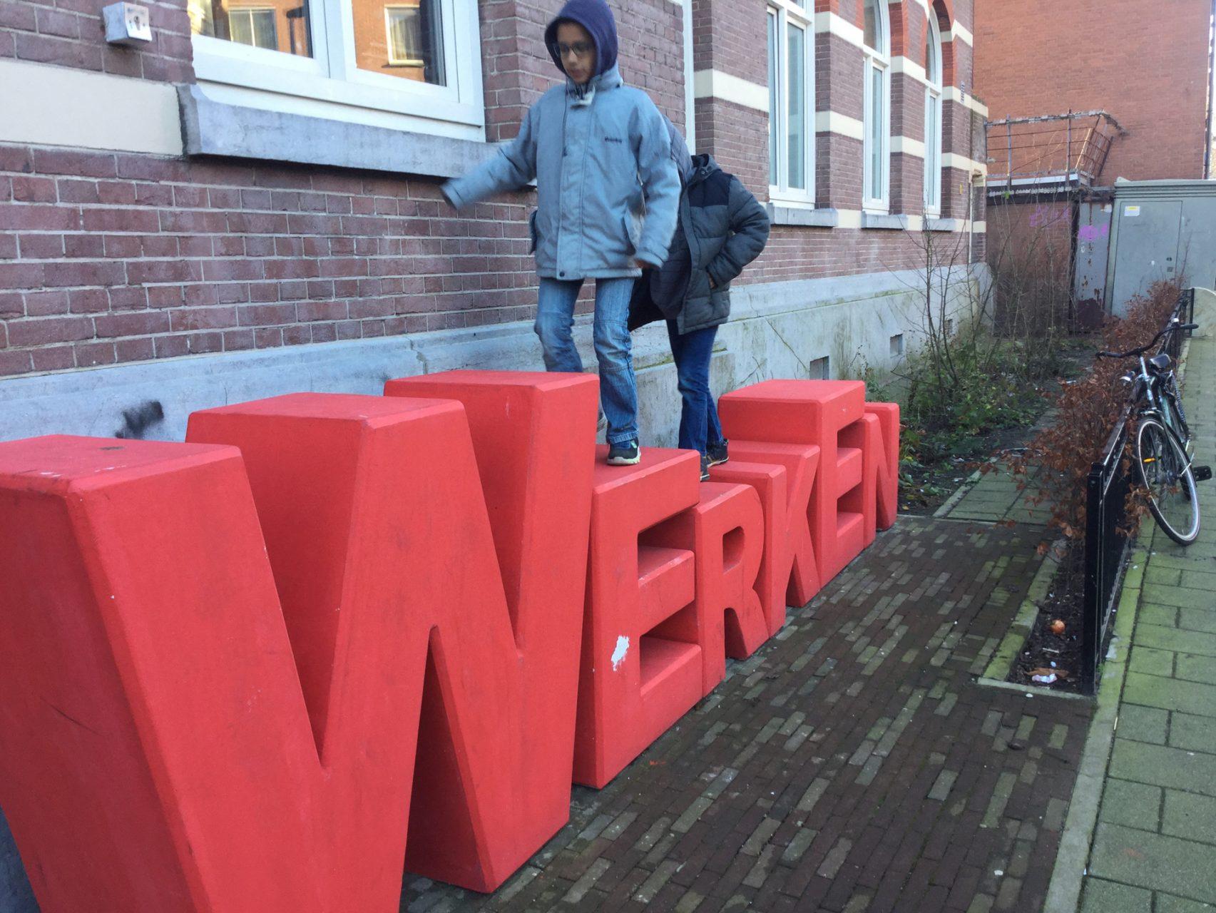 Lettersculpturen LMC