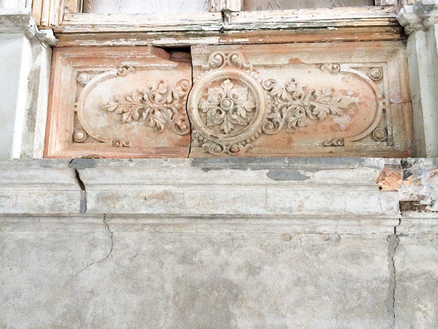 Ornamentpaneel rijksmonument Haarlem